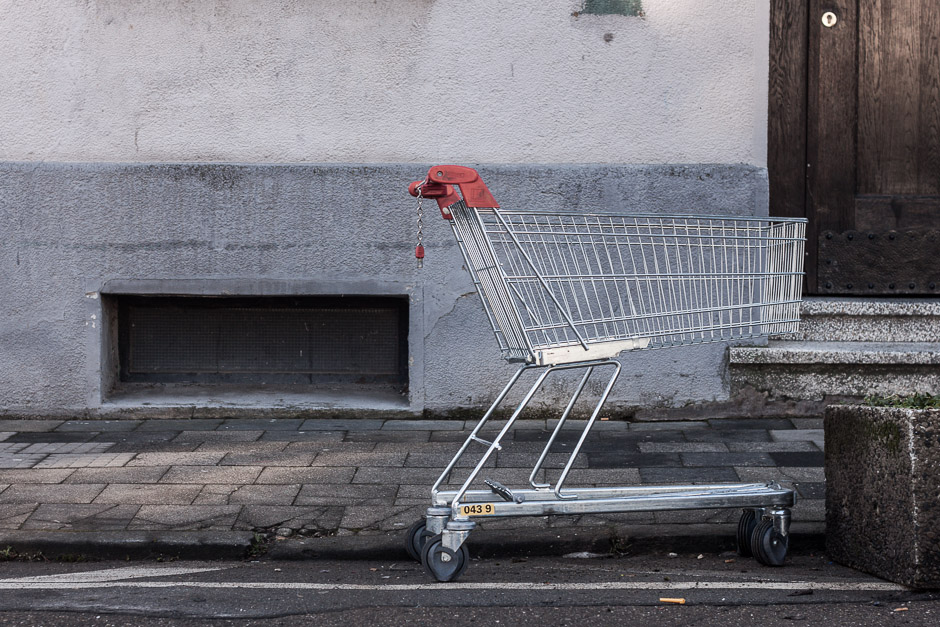 Lost Shopping Trolley