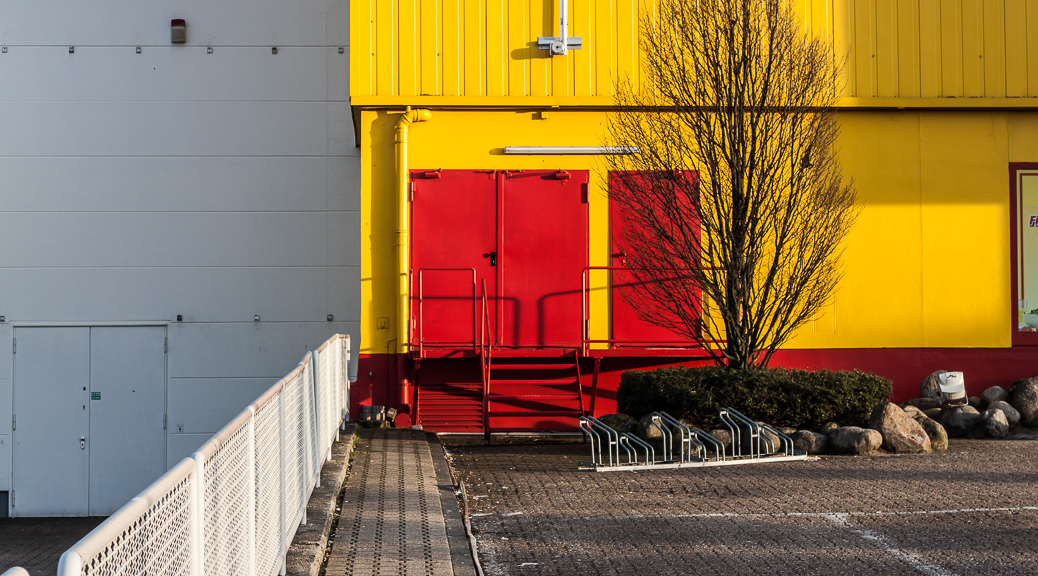 Yellow Red Grey